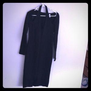 Halter dress black small